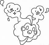 Pokemon Moon Coloring Sun Cosmog Pages Dibujos Para Colorear Legendaries Coloringpages101 Printable Cute Pikachu Paginas Sol Coloriage Legendary Cartoon sketch template