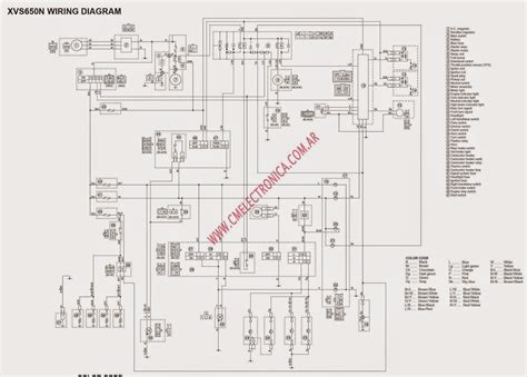 Vstar Wiring Diagram by The Chop Shop Xvs650 Wiring Diagram