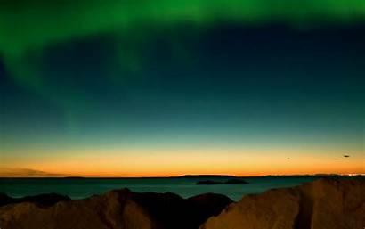 Aurora Pelangi Indah Malam Ini Parede Papel