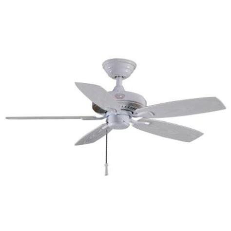 outdoor ceiling fan for gazebo hton bay gazebo ii 42 in indoor outdoor white ceiling