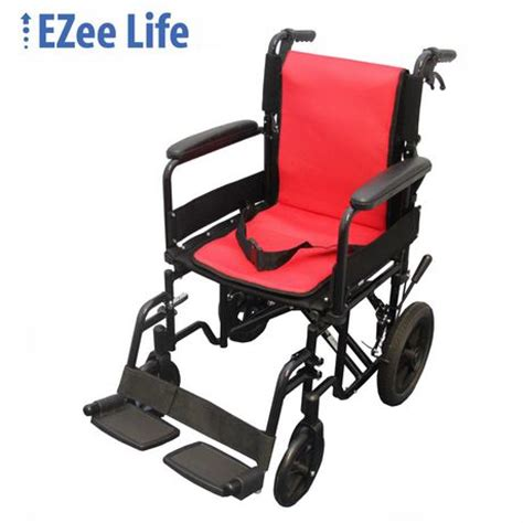Transport Chair Walmart Canada by Ezee 18 Quot Seat Width Featherlite Transport Chair