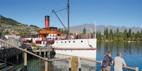 Paddle Boats Queenstown by Queenstown Lake Cruises Tss Earnslaw Steamship