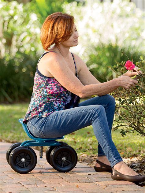 gardening seat gardening chair  rider swivel scoot