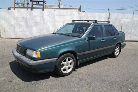 where to buy car manuals 1994 volvo 850 user handbook find used 1994 volvo 850 base manual 5 cylinder no reserve