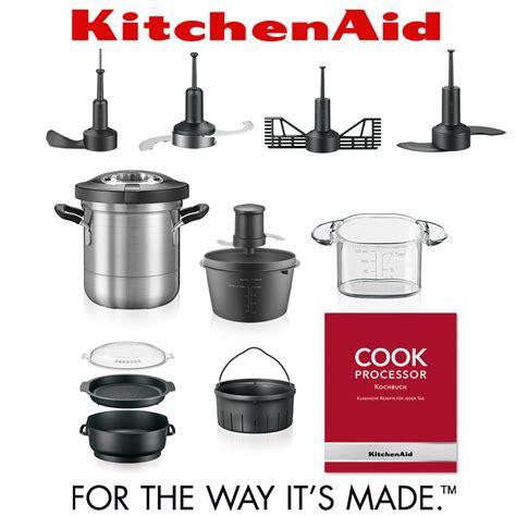 cuisine aid kitchenaid artisan cook processor onyx schwarz