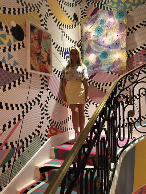habitually chic color  happy staircase  sasha bikoff