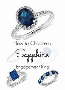 How to choose a sapphire engagement ring for How to choose a wedding ring