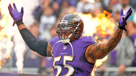 terrell suggs reportedly tore  biceps    play