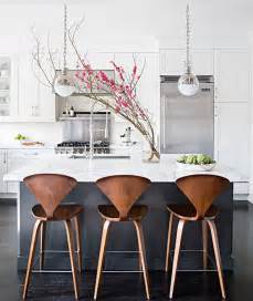 kitchen island chairs or stools charcoal gray kitchen island with white marble counters contemporary kitchen