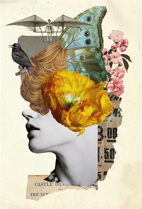 Collage Kunst Ideen die 25 besten ideen zu collage kunst auf