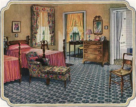 blabon art linoleum bedroom vintage home