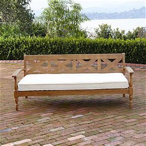 maldives deep bench outdoor  patio furniture