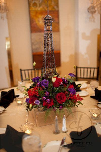 paris event   mayflower hotel jewel tone floral