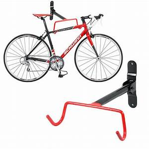 Support Velo Garage : garage parete bicicletta mtb storage rack hook holder ~ Melissatoandfro.com Idées de Décoration