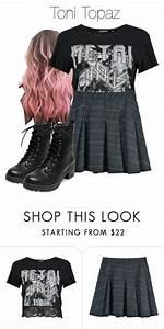 Toni Topaz / Riverdale by demiwitch-of-mischief on Polyvore featuring Topshop and LE3NO | oufits ...