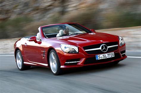 Modifikasi Mercedes Sl Class by Mercedes Sl Class Convertible Review 2012 Parkers