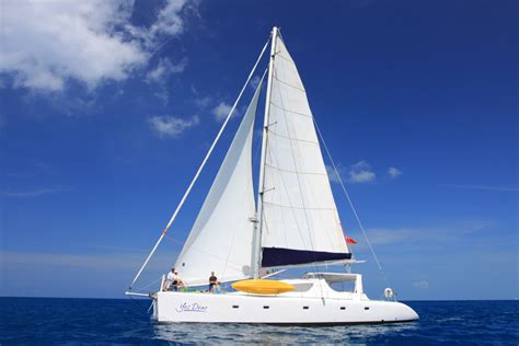 Yacht Yes by Yes Dear Crewed Catamaran Charter Islands