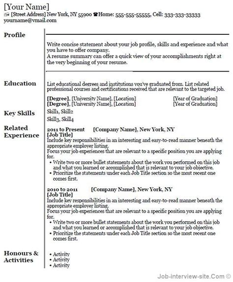 Lebenslauf In Tabellarischer Form by Free 40 Top Professional Resume Templates