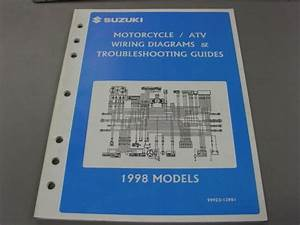 Suzuki 1998 Models Motorcycle  U0026 Atv Wiring Diagram