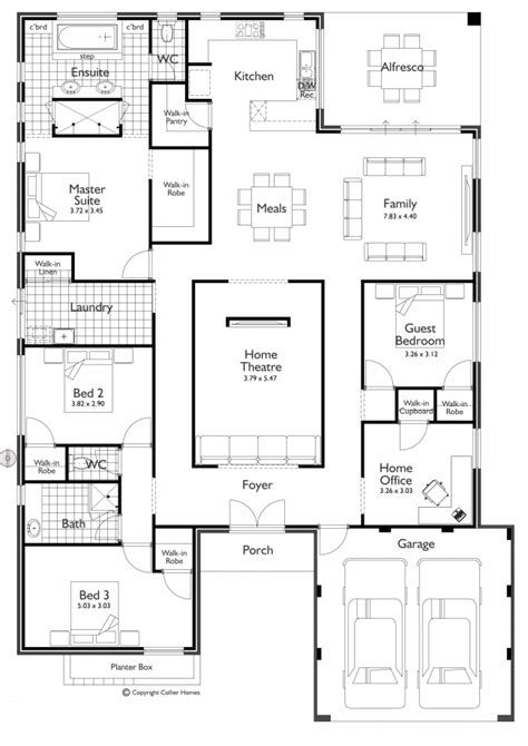 5 Bedroom House Plans Nsw by Floor Plan Friday Theatre Room Future House Plans