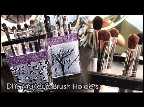 Makeup Organizer Stand by Diy Make Up Brush Holder Youtube