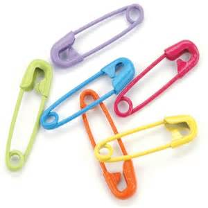 Baby Safety Pin Clip Art