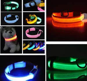 Blinking Light For Dog Collar Led Light Up Dog Collar Pet Night Safety Bright