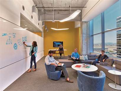 Office Google Directv Collaborative Workplace Workers Hok