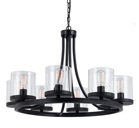 largo 8 light modern pendant from telbix australia