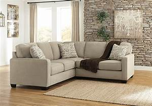 alenya quartz 2pc laf sofa sectional lexington With alenya sectional sofa in quartz