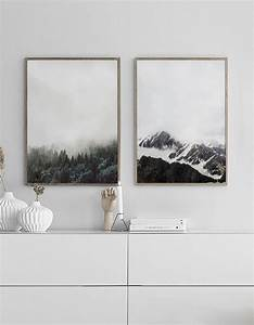 Bilder über Bett : stilvolle poster ber dem bett oder sofa plakate in ~ Watch28wear.com Haus und Dekorationen