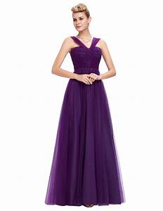 grace karin purple evening dresses long new arrival formal With long purple dresses for weddings