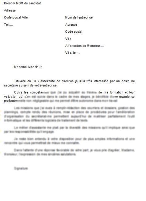 lettre de motivation chef de cuisine exemple lettre secretaire administrative