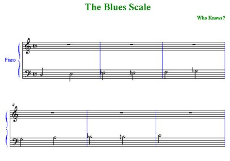 Chord Substitutions In The 12 Bar Blues