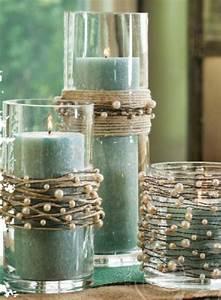 Sprossenfenster Selber Machen : diy deko rustikaler stil gr c bcne kerzen schnur perlen mit zus tzlichen fabelhaft einstellen ~ Orissabook.com Haus und Dekorationen