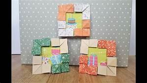 Bilderrahmen Aus Pappe : how to make a paper picture frame bilderrahmen aus papier basteln eine tolle geschenkidee ~ Watch28wear.com Haus und Dekorationen
