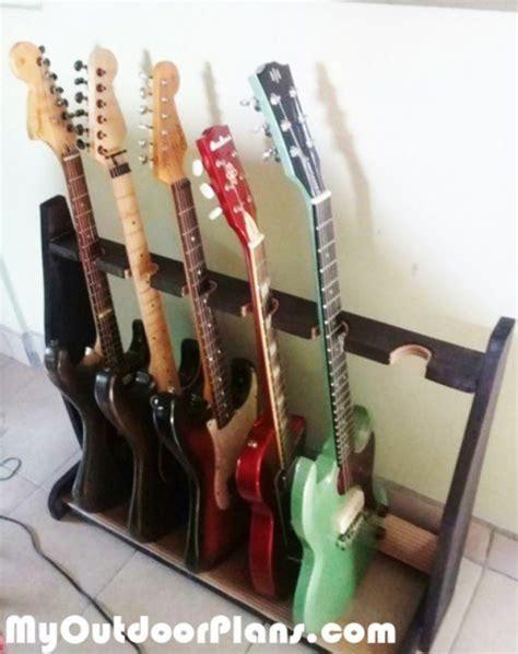 diy basic wood guitar stand myoutdoorplans