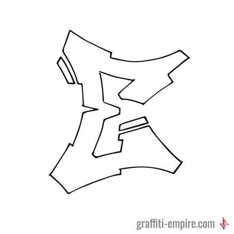 graffiti letter e semi wildstyle e graffiti letter graffiti empire 24684