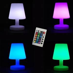 Petite Lampe Led : petite lampe 26cm de table a led lumineuse avec ~ Melissatoandfro.com Idées de Décoration