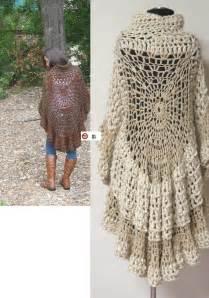 Boho Crochet Poncho Pattern