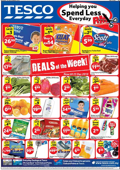deals  week  tesco hypermarket supermarket sale