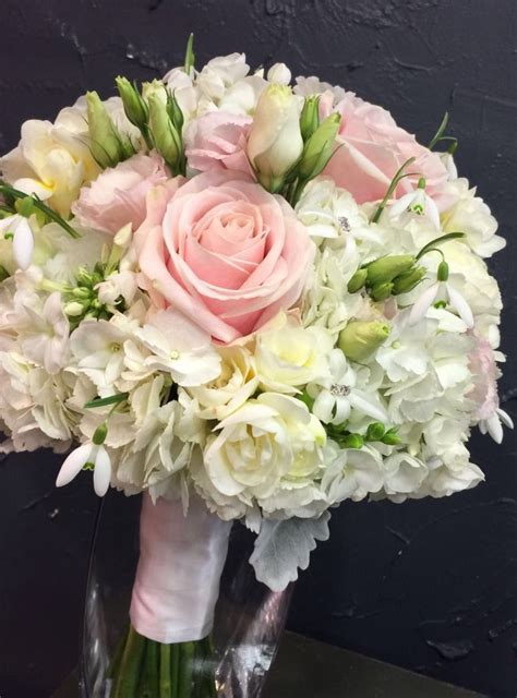 Beautiful Spring Fragrance Bridal Bouquet With Sweet