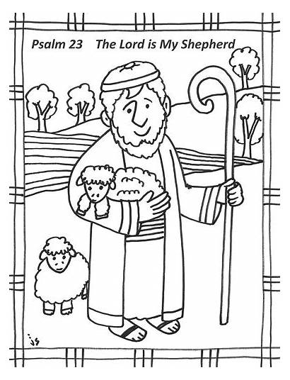 Psalm Coloring Pages Bulletin Lent Covers John