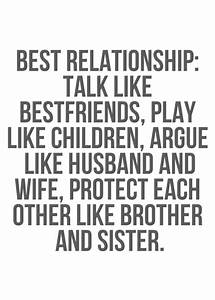 The Best Relationship - Life Quotes