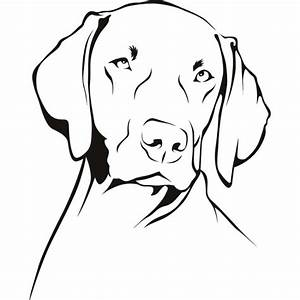 Weimaraner Wall Sticker Dog Wall Art