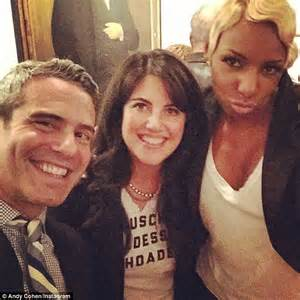 Andy Cohen With Monica Lewinsky And NeNe Leakes In
