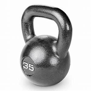 35 Lb  Hammertone Kettle Bell