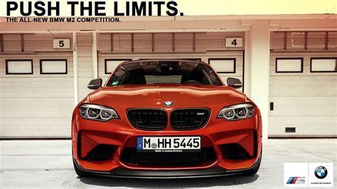 2018 bmw m2 competition advertisement cars bmw m2 bmw car brochure