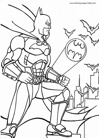 Coloring Pages Cool Batman Looking Bat Super