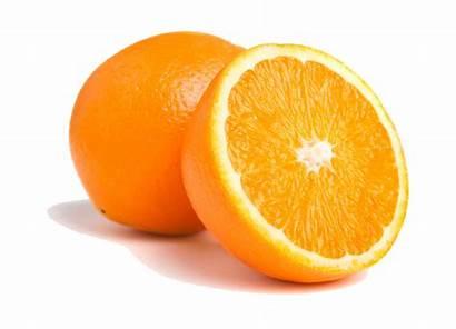 Orange Transparent Oranges Fruit Half Naranja Leave